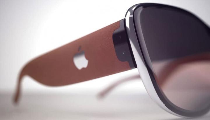 Imagem conceiyto de Apple Glasses com realidade aumentada que apareceu na patente