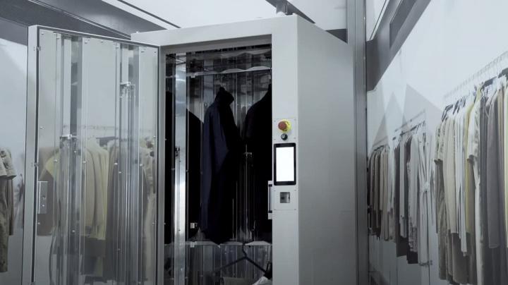 Imagem do PHYS para esterilização de vestuário, objetos que possa transmitir COVID-19