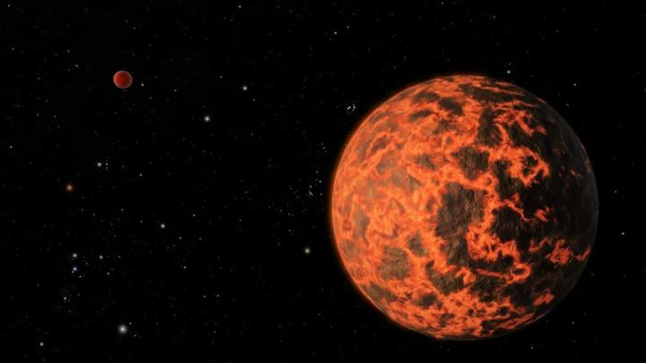 Imagem planeta TOI-849b