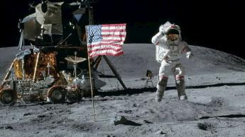 Missão Apollo na Lua.