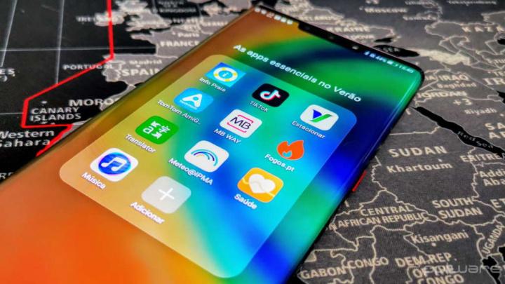 Huawei smartphone AppGallery férias verão