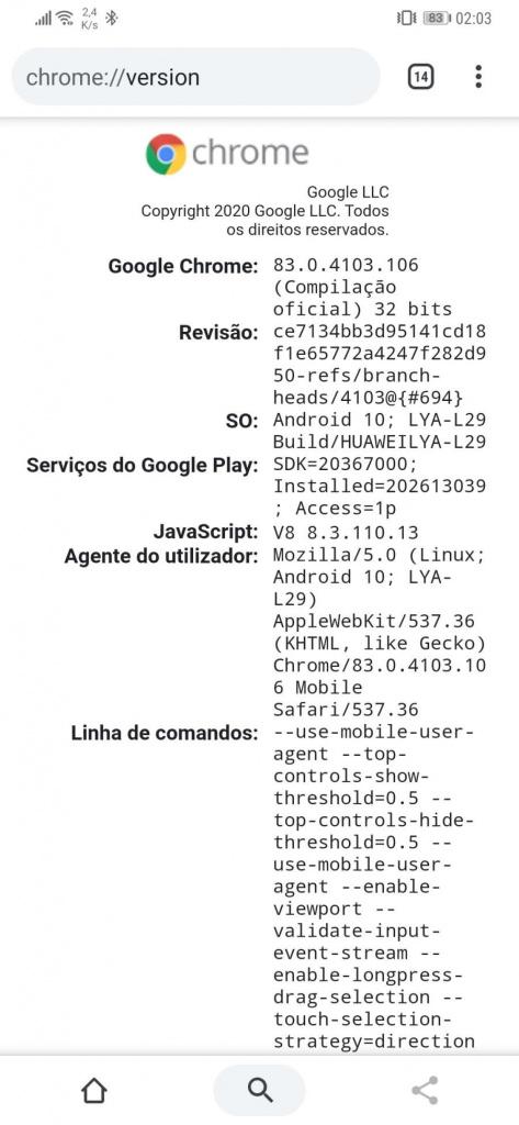 Chrome Android 64-bit better performance