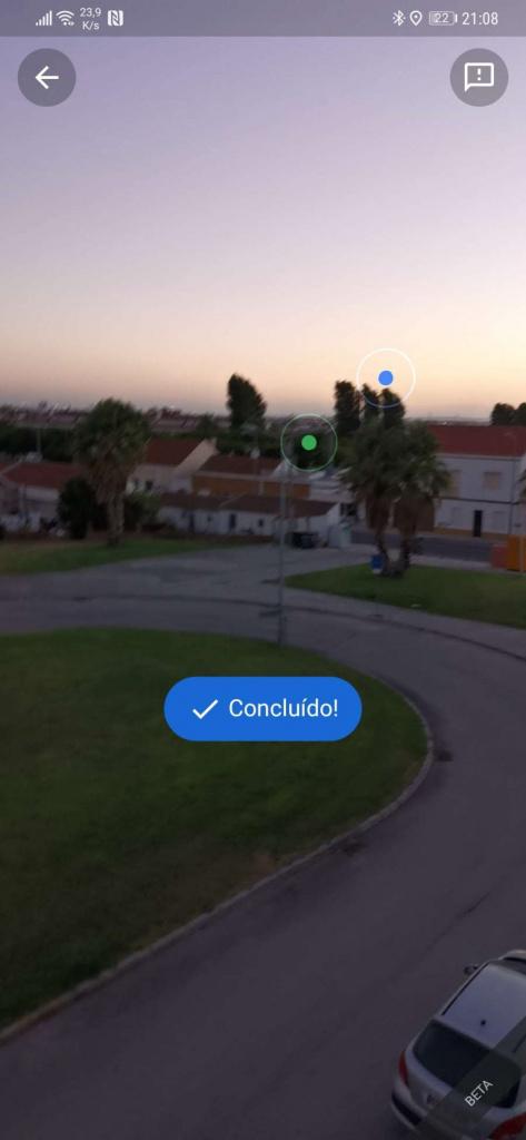 Google Maps Live Maps posição precisão