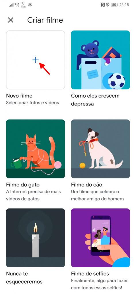 Google Photos vídeos app fotografias