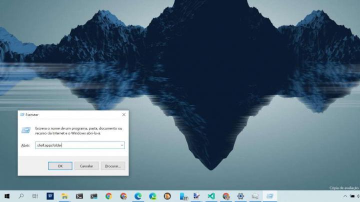 Windows 10 apps arranque janela explorador