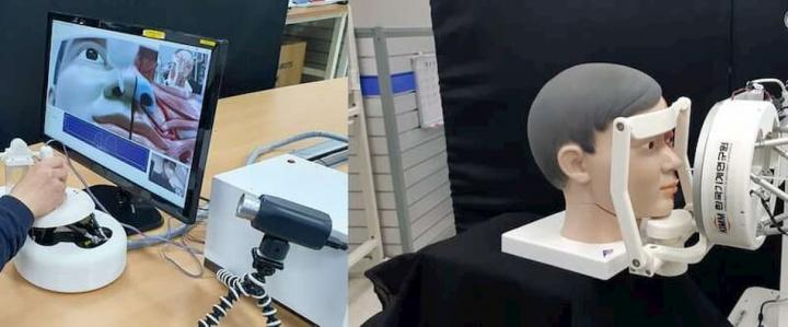 COVID-19: equipa desenvolve robô que realiza testes remotamente
