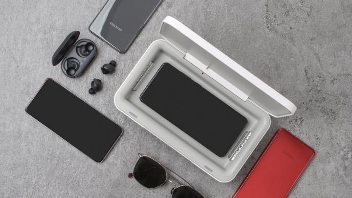 Samsung lança caixa de carregamento com luz UV para esterilização dos equipamentos