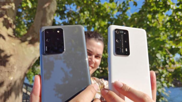 Samsung Galaxy S20 Ultra vs. Huawei P40 Pro+: até onde vai o Zoom 100X?