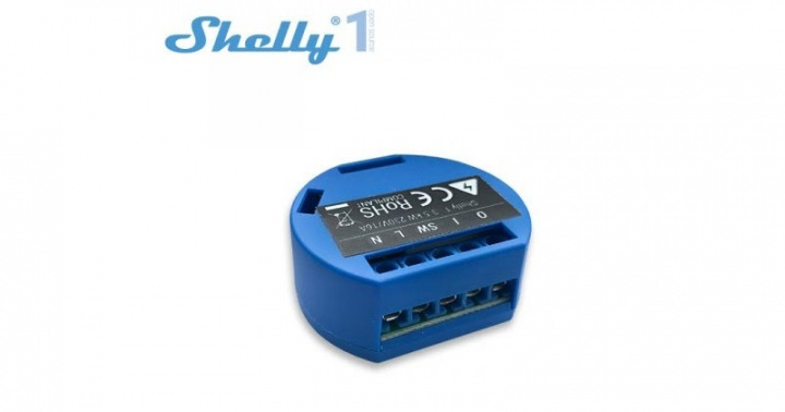 Control everything in your home from a smartphone with Shelly