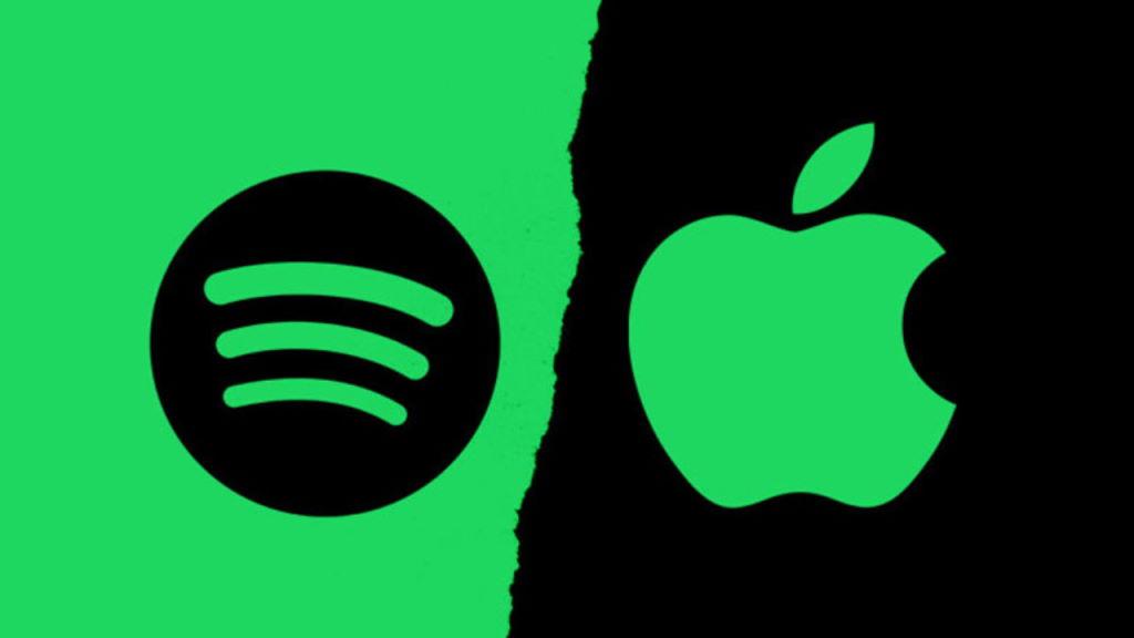 Spotify streaming Apple Music utilizadores mercado