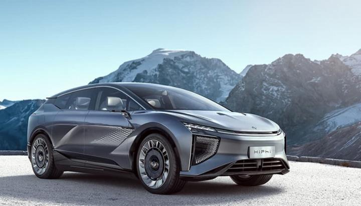 Imagem do SUV eléctrico chinês HiPhi 1