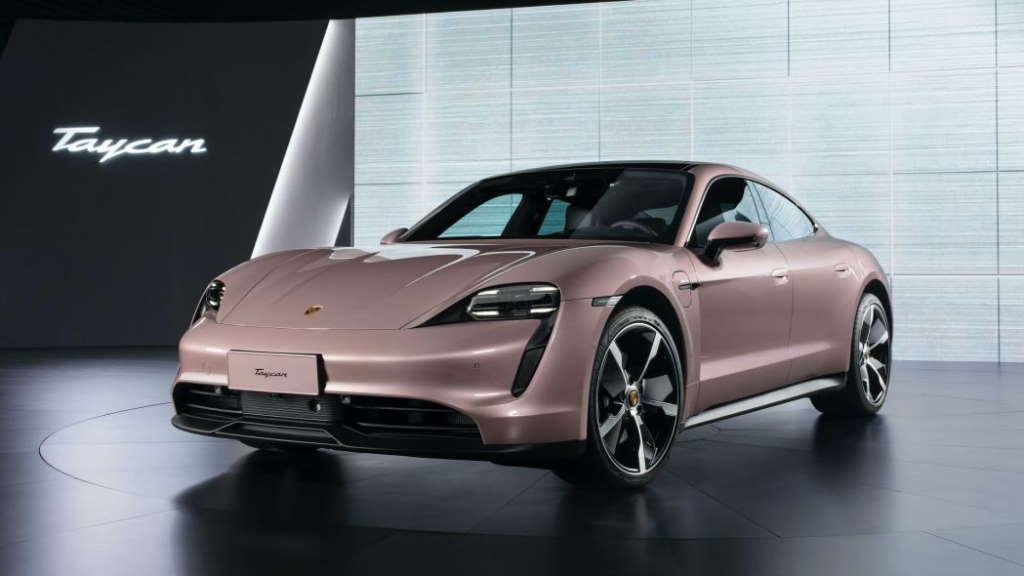 Porsche Taycan elétrico barata Tesla