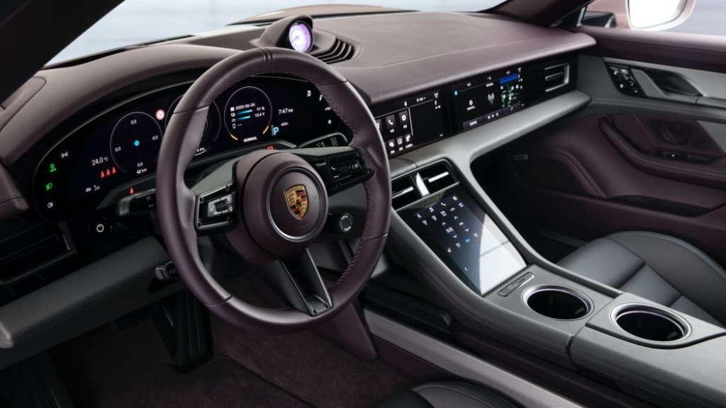 Porsche Taycan electric cheap Tesla