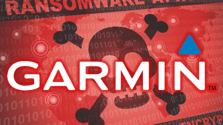 Ilustração do ransomware WastedLocker que atacou a Garmin
