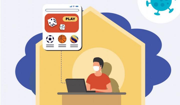 COVID-19 faz disparar apostas online em jogos de fortuna ou azar