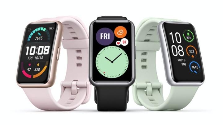 Huawei Watch Fit - o novo smartwatch chega com com grande ecrã retangular
