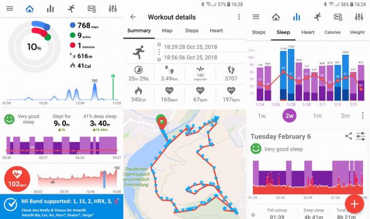 Notify & Fitness for Mi Band - Tem uma Xiaomi Mi Band? 5 apps que deve instalar no smartphone