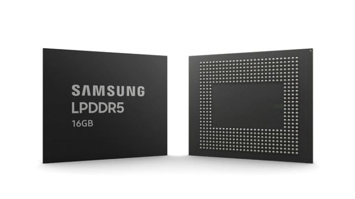 Samsung LPDDR5 de 16 GB