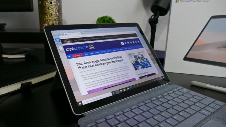 Desempenho - Surface Go 2, o mais leve e pequeno Surface, ideal para toda a família
