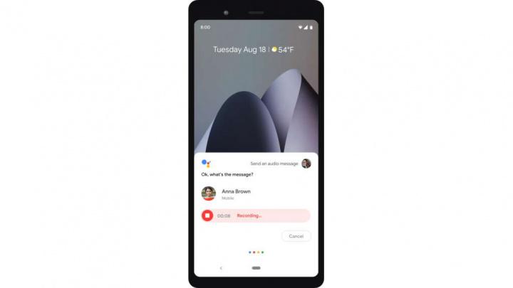 Google Assistente mensagens voz Android