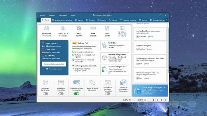 Otimize o desempenho do seu Windows 10 com o novo Auslogics BoostSpeed 11