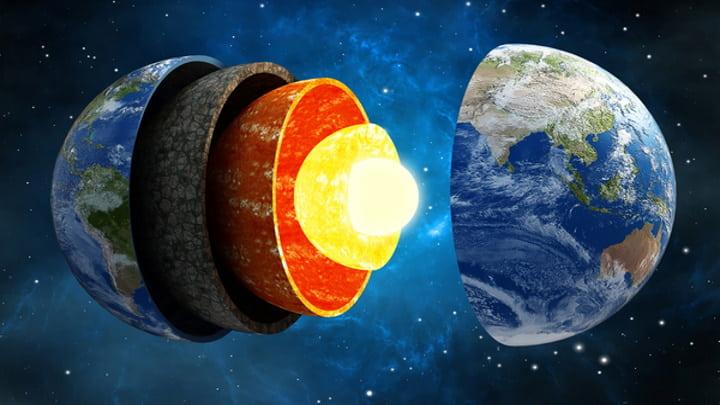 Núcleo interior sólido da Terra tem cerca de mil milhões de anos