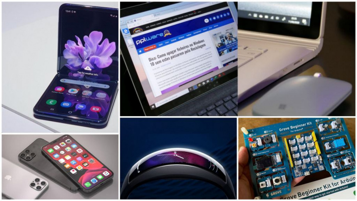 E os destaques tecnológicos da semana que passou foram... - Microsoft Surface, Samsung, Apple, Amazfit, Starlink