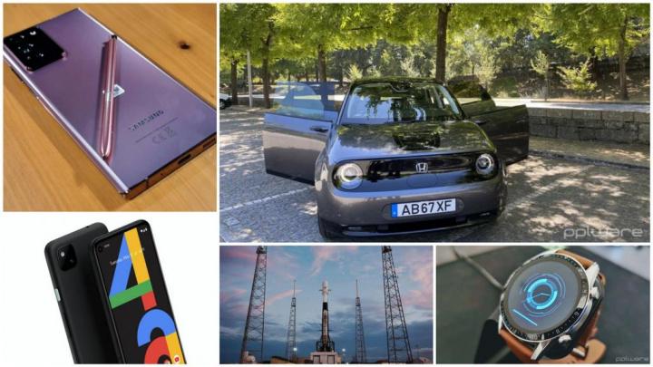 E os destaques tecnológicos da semana que passou foram... - Galaxy Note 20, Honda, Google Pixel 4a, Android 11