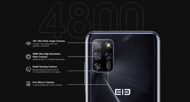 Elephone U5 - Smartphone Android 10 por menos de 150€ e com NFC