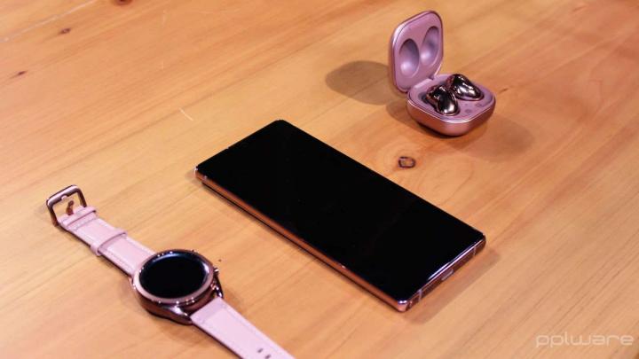 Samsung smartphones encontrar desligados rede