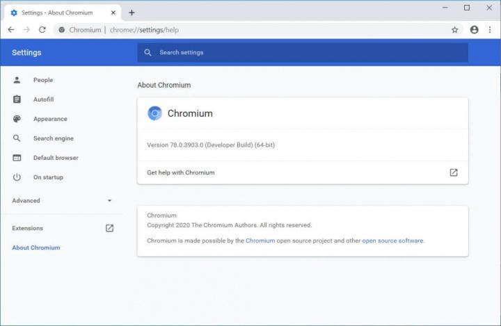 Microsoft loja apps Chromium regras