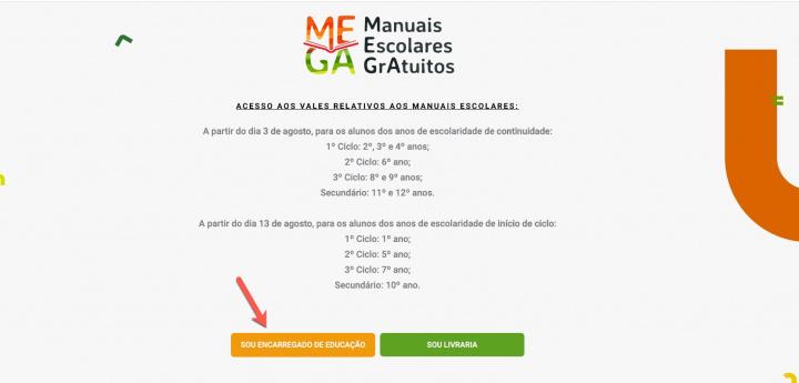 MEGA: Peça já os vouchers para manuais escolares gratuitos