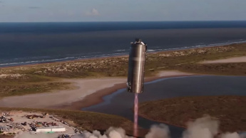 Imagem nace da SpaceX protótipo