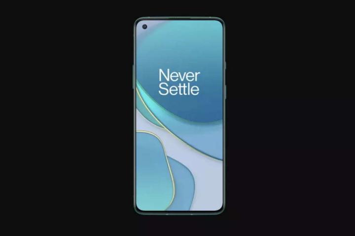 OnePlus 8T smartphone imagem modelo