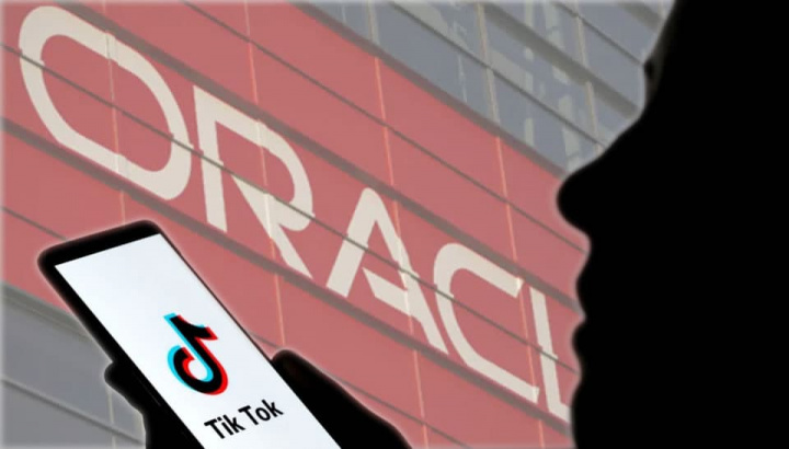 Ilustração TikTok recebe interesse da Oracle
