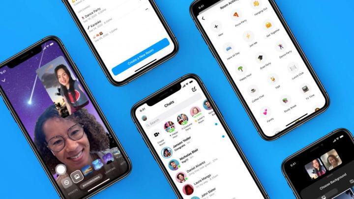 Messenger Rooms Facebook salas novidades