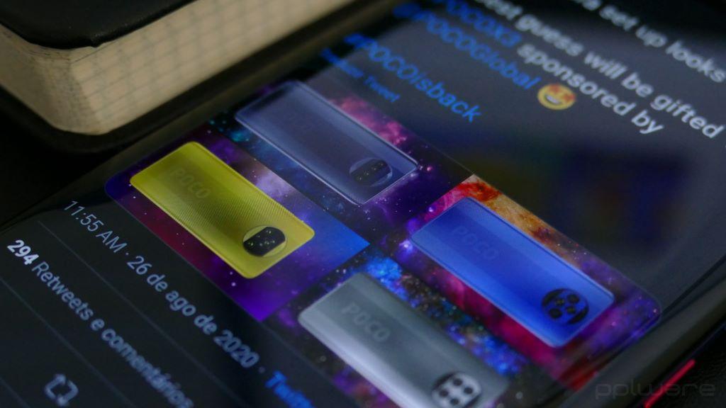 POCO X3 - Qual será o design mais próximo do novo smartphone?