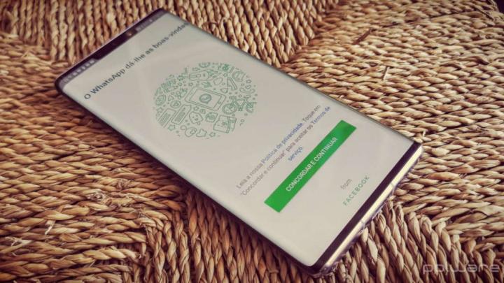WhatsApp imagens qualidade partilhada vídeo