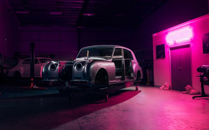 Rolls-Royce Phantom V de 1961
