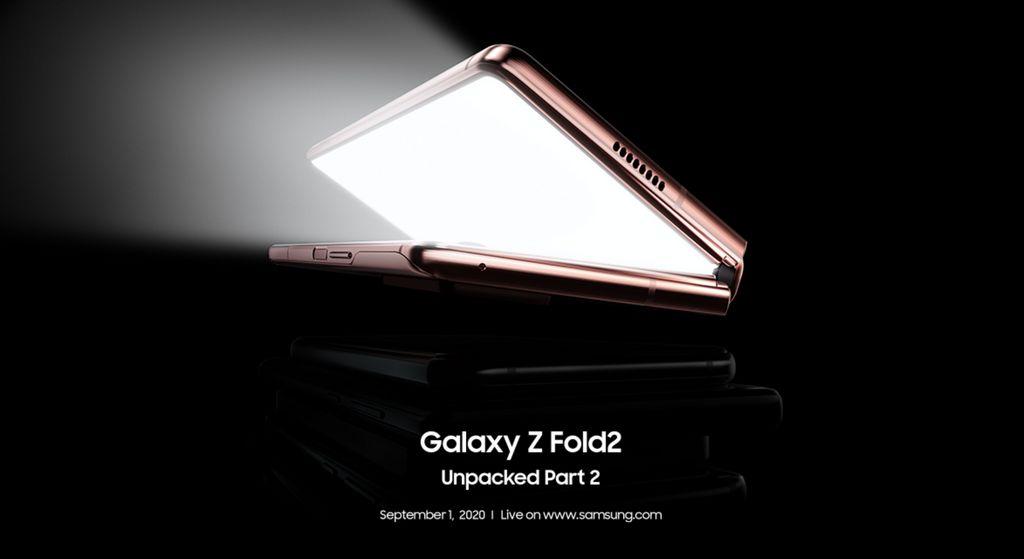 É oficial: Samsung Galaxy Z Fold2 chega a 1 de setembro