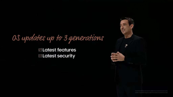 Samsung Android atualizações versões Google