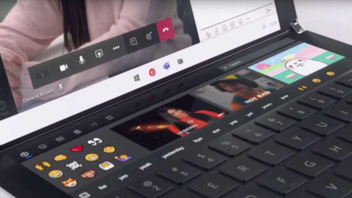 Windows 10X teclado Microsoft testar utilizador