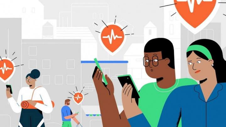 Android terramotos Google detetar smartphones