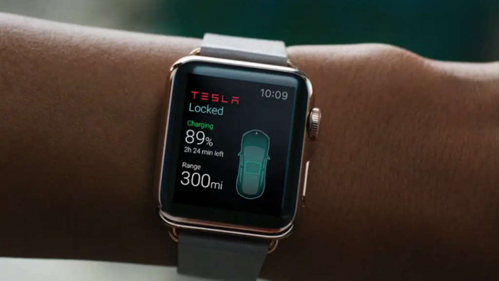 Tesla smartwatch carros Xplora Technologies chave