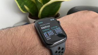 Imagem Apple watch 5 com watchOS 7