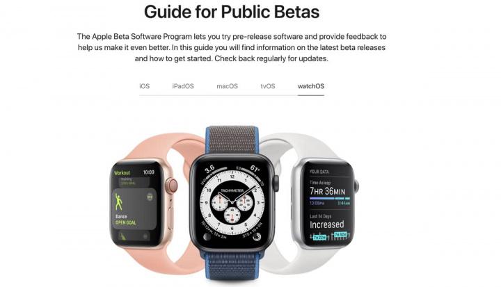 Imagem watchOS 7 do Apple Watch