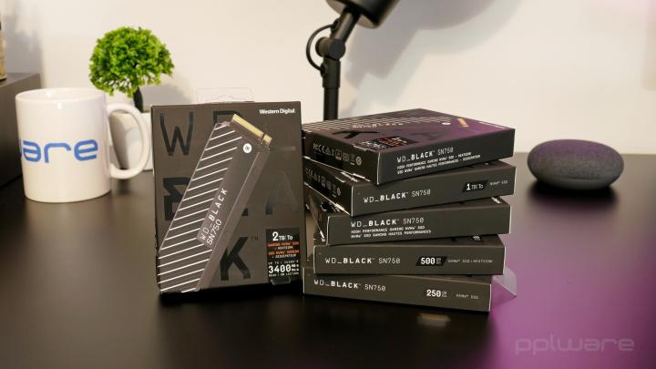 Análise: Drives SSD gama WD Black SN750 NVMe de 250 GB a 2 TB, para gamers e não só