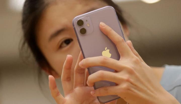 Imagem ilustração WeChat no iPhone na China