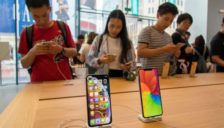 Imagem Apple Store na China