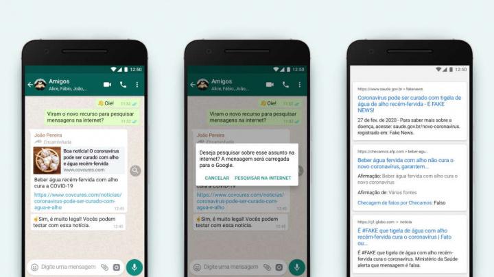 WhatsApp Fake News mensagens novidade importante